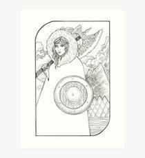 Wheel of Fortune - Tarot Card Art Print