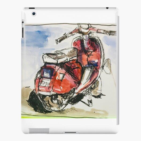 Red Vespa iPad Snap Case