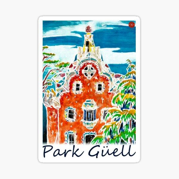 Park Guell Sticker