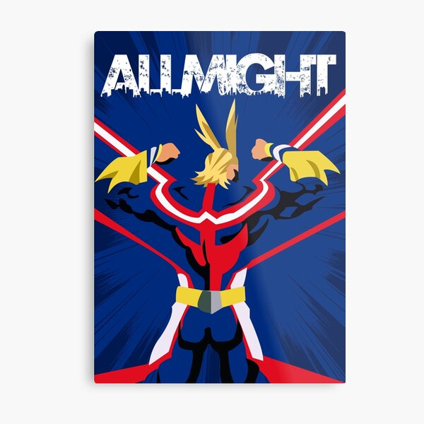 All Mighty Metal Print