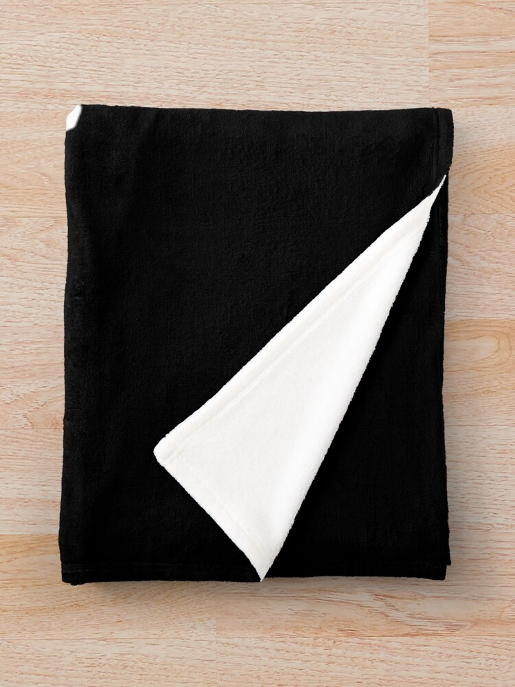 Alternate view of Fly (飛べ) - Haikyuu!! (White) Throw Blanket
