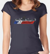 Toughest Coast Guard Narco Sub Bust - Alto Su Barco Ahora!  Fitted Scoop T-Shirt