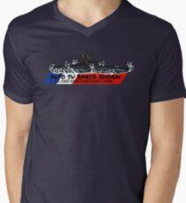 Toughest Coast Guard Narco Sub Bust - Alto Su Barco Ahora!  V-Neck T-Shirt