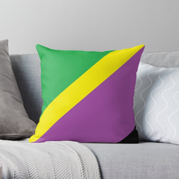 #Pattern, #design, #abstract, #textile, tile, square, mosaic, decoration, illusion, shape Throw Pillow