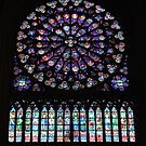 Notre Dame Rose Window by AcePhotography