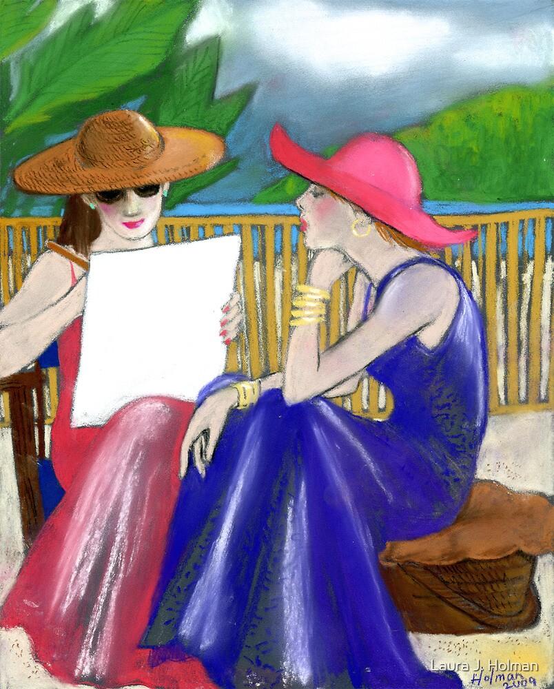 Island Sketching by Laura J. Holman