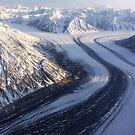Kaskawulsh Glacier by Marty Samis