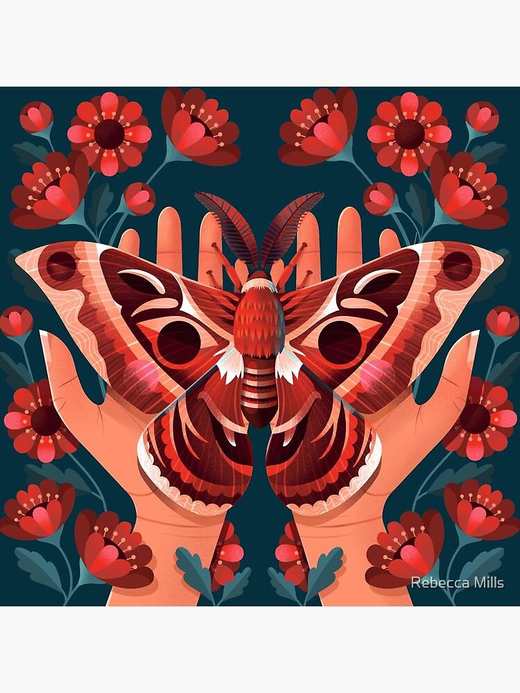 Moth by RebecccaMills