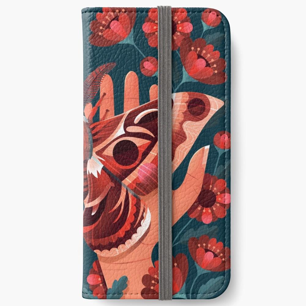 Moth iPhone Wallet