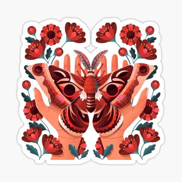 Moth Sticker