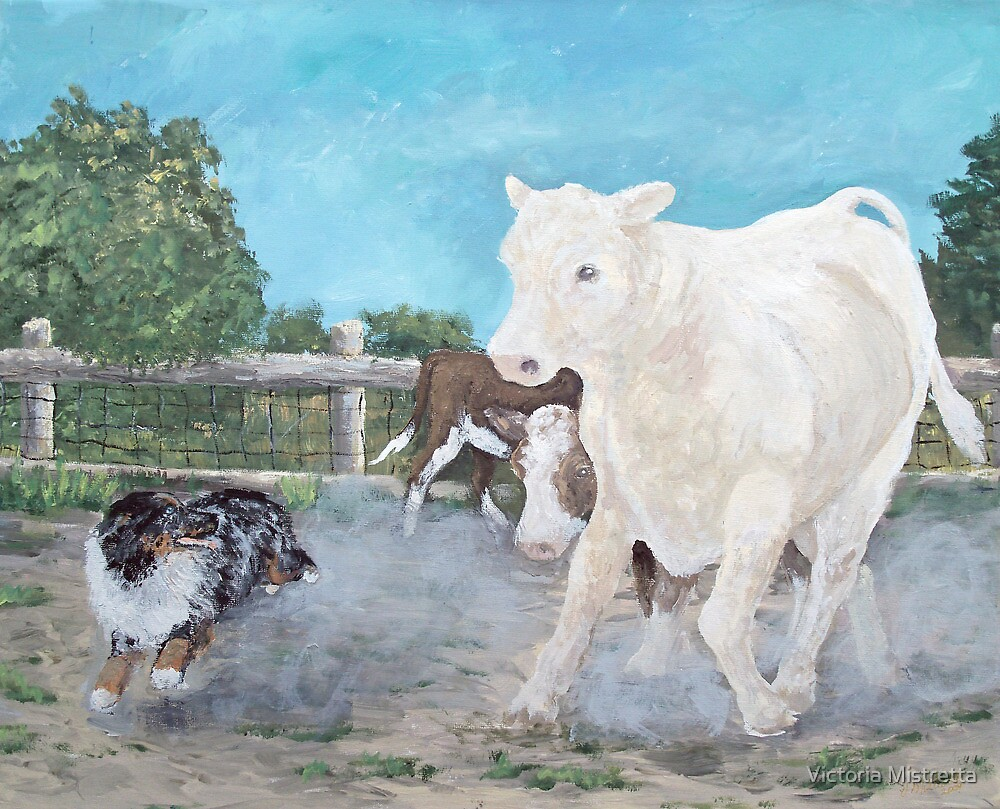 Lizard and The White Steer by Victoria Mistretta