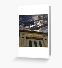 Yankee Stadium, NY Greeting Card