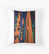 Redwood Forest Throw Pillow