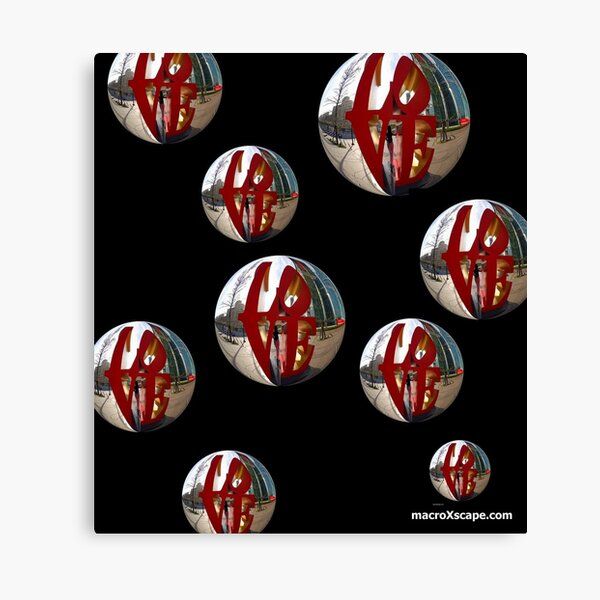 Ballons of Love Canvas Print