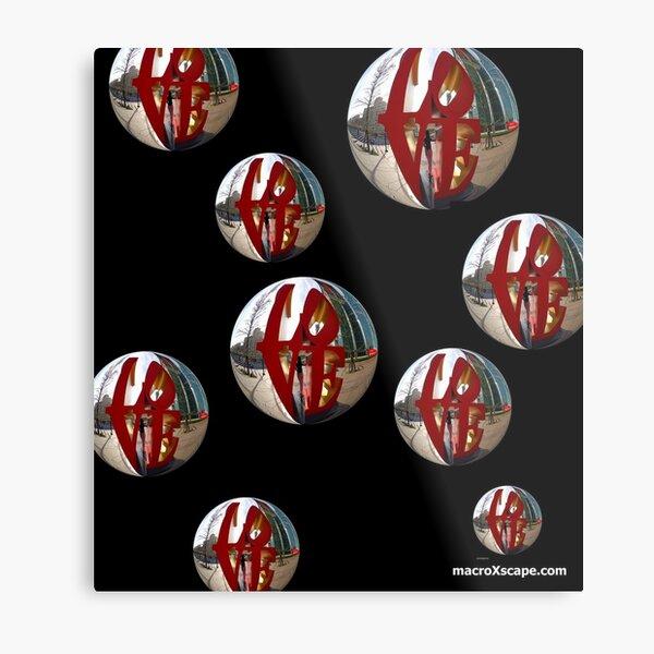 Ballons of Love Metal Print