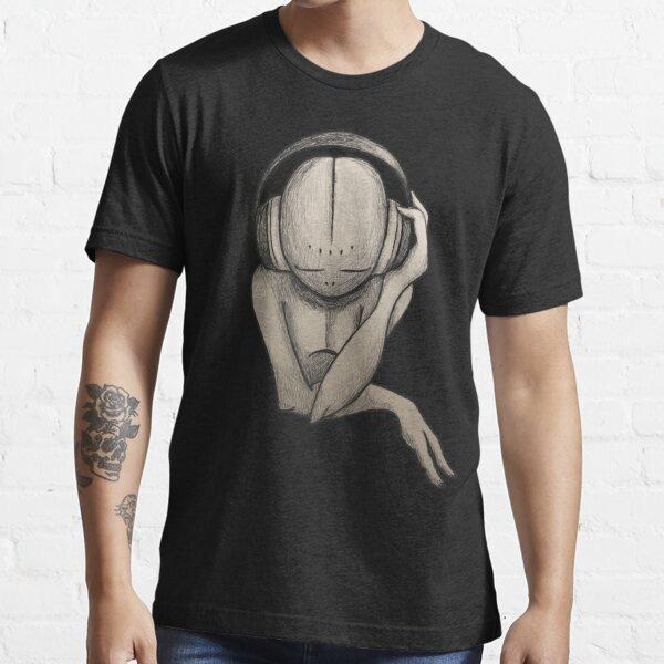 Music Lover| Alien Wearing Headphones Essential T-Shirt