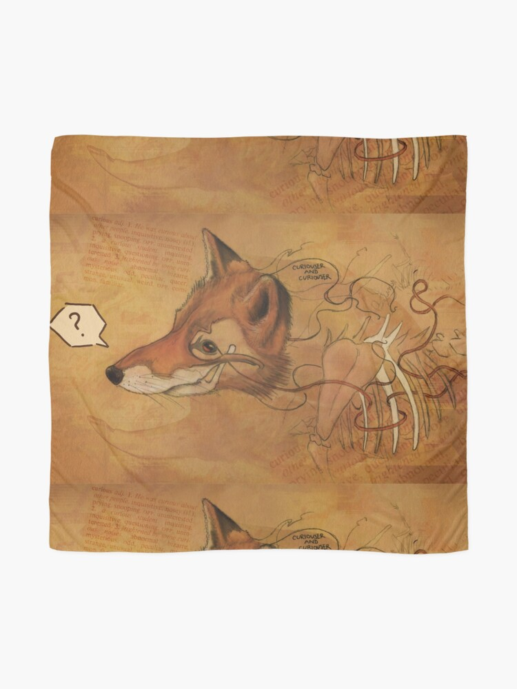 Alternate view of Curious Mr.Fox Scarf