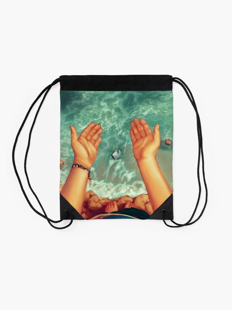 Alternate view of No Longer Drawstring Bag