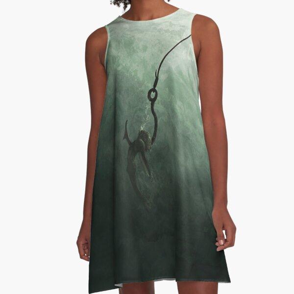 Caught A-Line Dress