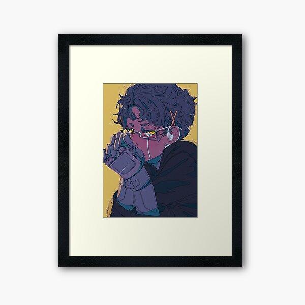 Cyborg crybaby Framed Art Print