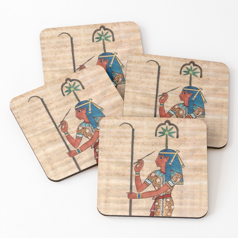 Seshat Coasters (Set of 4)