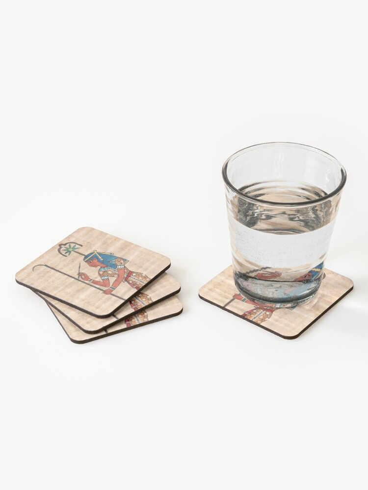 Alternate view of Seshat Coasters (Set of 4)