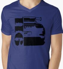 911 porsche gt3 Men's V-Neck T-Shirt