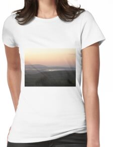 Soft evening light - Towards Downings Donegal  Ireland  Womens Fitted T-Shirt