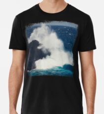 Wild Sea - Atlantic Ocean Wave Premium T-Shirt