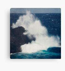 Wild Sea - Atlantic Ocean Wave Canvas Print