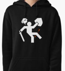 Arrow to the Knee Pullover Hoodie