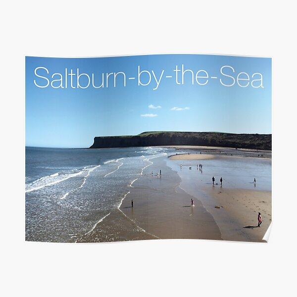 NDVH Saltburn Beach - Hunt Cliff Poster