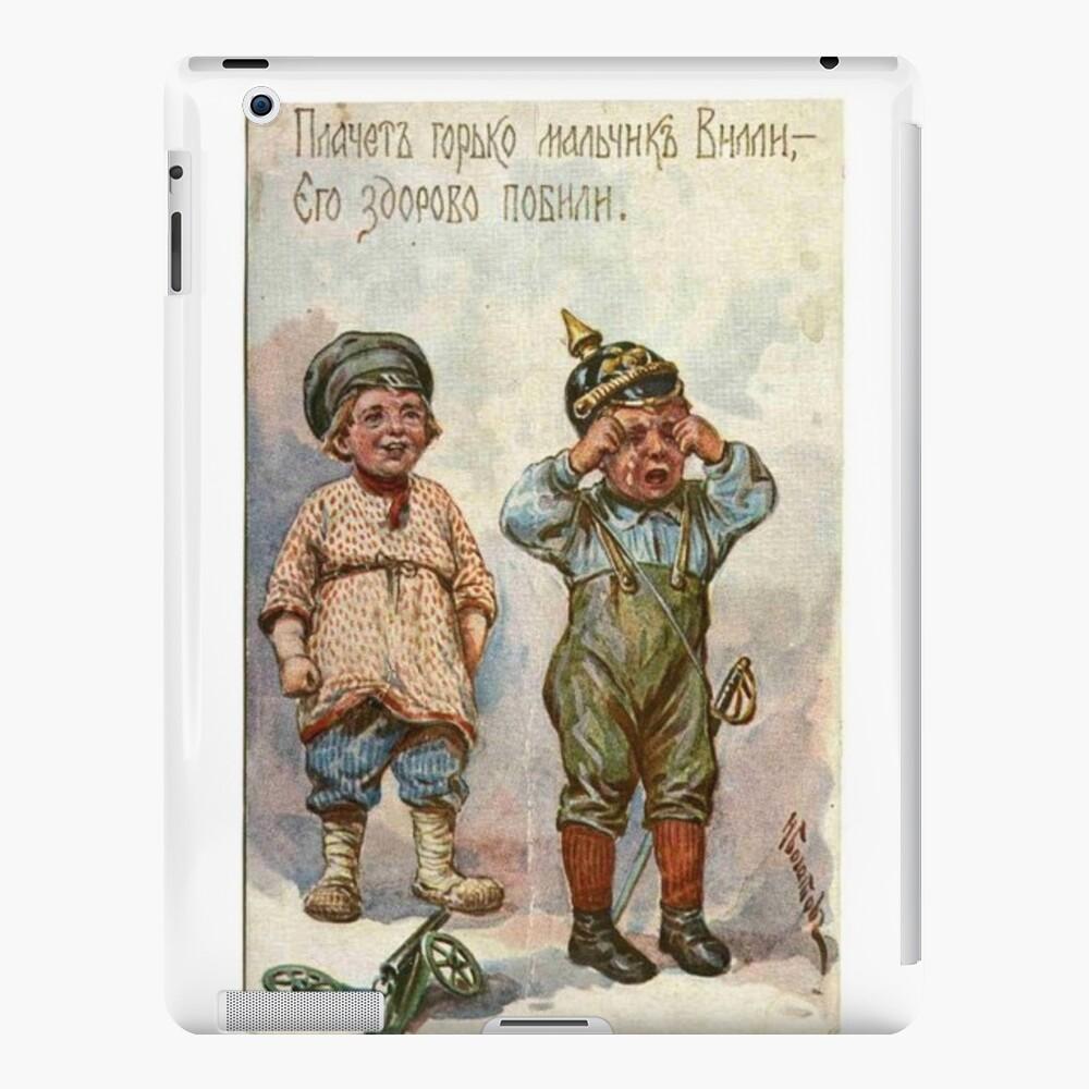 #Propaganda #posters of the First World War #Агитационные #плакаты Первой мировой войны iPad Case & Skin