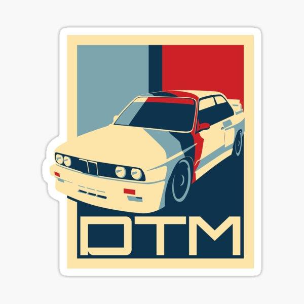 E30 M3 Vintage DTM Racing Style Sticker