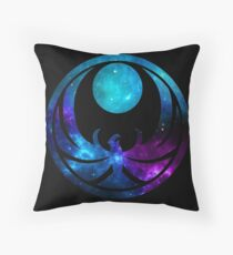 Nightingale Energies Throw Pillow