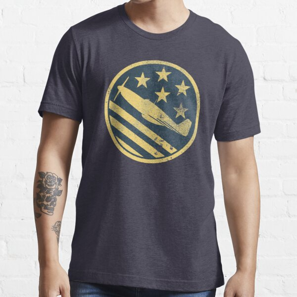 P-51 Mustang (distressed) Essential T-Shirt