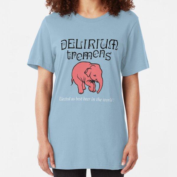 Delirium Beer Cocktail Slim Fit T-Shirt