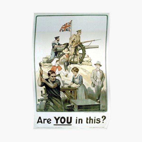 #Propaganda #posters of the First World War #Агитационные #плакаты Первой мировой войны Poster