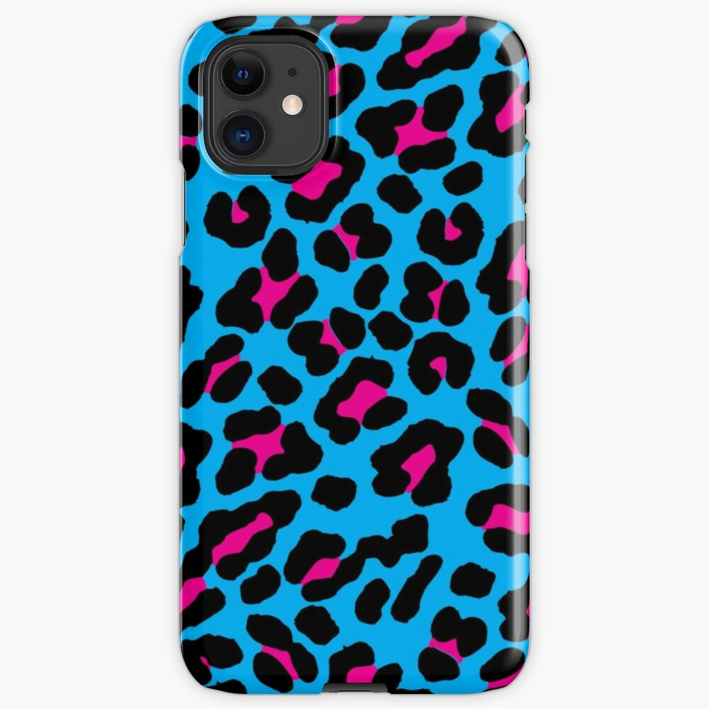 Blue Leopard iPhone Case & Cover