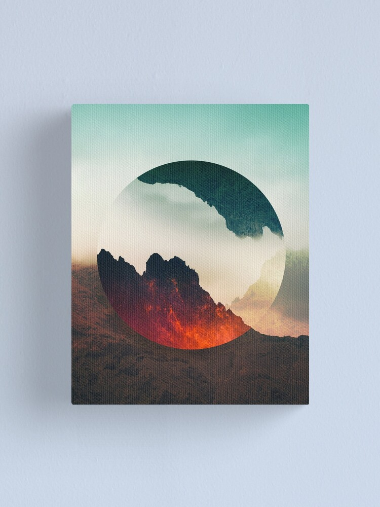 Alternate view of Second Sphere Canvas Print