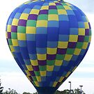 Hot Air Balloons III by Lorelle Gromus