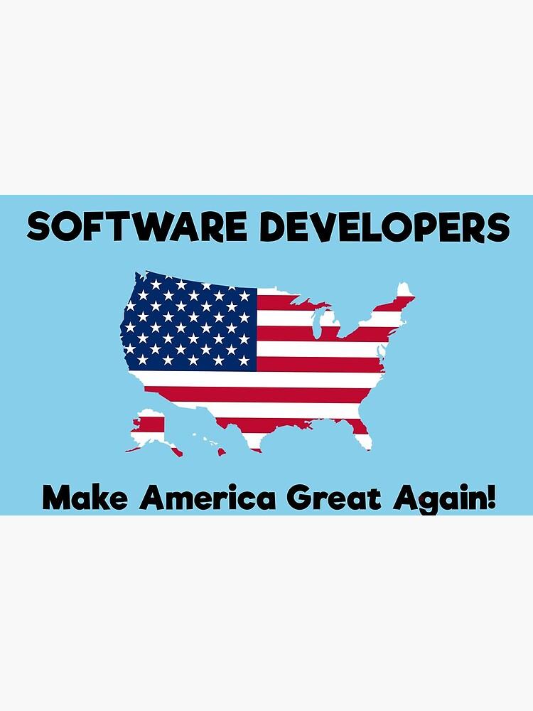 Software Developers MAGA by GreatAwokening