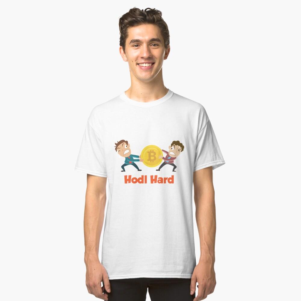 Hodl Hard Tug of War Classic T-Shirt