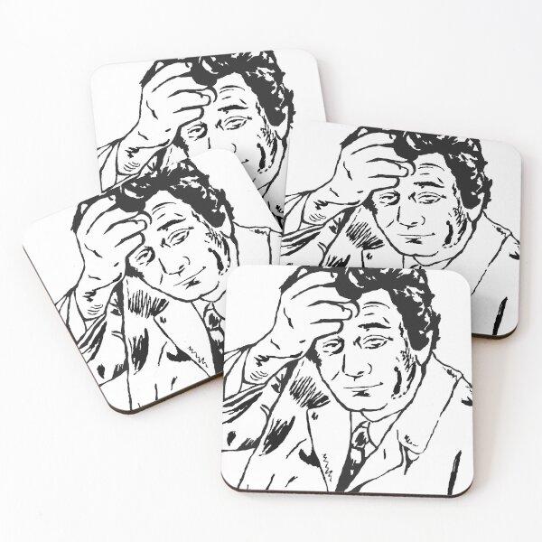 Lieutenant Columbo Portrait Coasters (Set of 4)