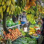 Sri Lanka. Nuwara Eliya. Stadtmarkt. von vadim19