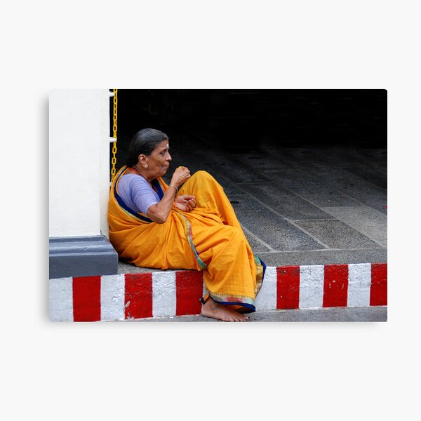 Woman of the Temple Canvas Print