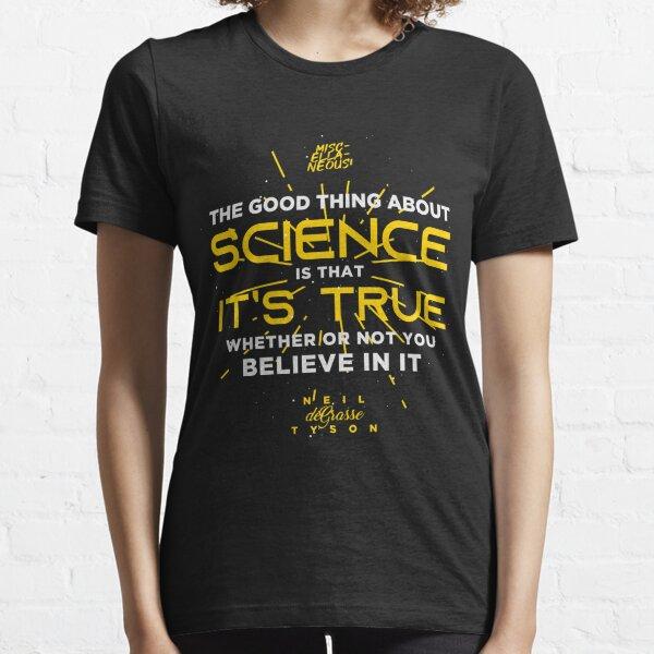 SCIENCE - Neil deGrasse Tyson Essential T-Shirt