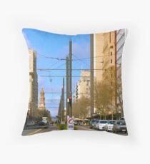 King William Street, Adelaide Throw Pillow