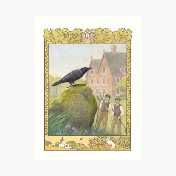 Letters From The Labyrinth | Room #1: The Old Rectory Art Print