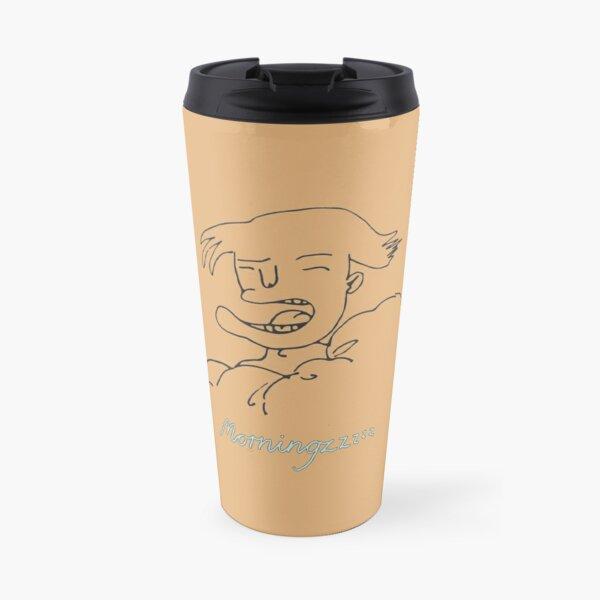 doodles of morning people #2 Travel Mug